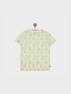Tee shirt manches courtes blanc RUMOAGE / 19E3PGQ1TMC000