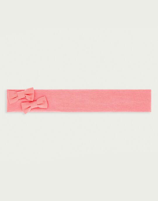 Bandeau rose RYGOPLUM / 19E0AFI2BAN305