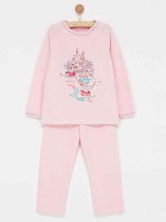 Pyjama rose PIXOSETTE / 18H5PFL4PYJ309