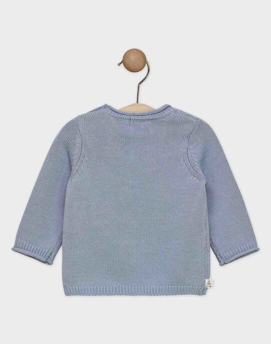 PULL uni bleu grisé   SAKELIO / 19H1BG61PUL205