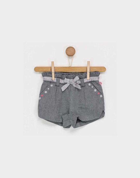 Short gris PASARAH / 18H1BFQ1SHO942