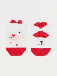 Chaussettes basses bébé fille  TATALA / 20E4BFW1SOB001