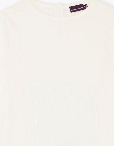 T-shirt écru manches longues ZETETTE 2 / 21E2PFB1TML632