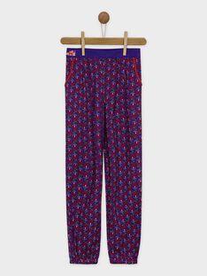 Pantalon violet ROUQOETTE / 19E2PFM1PAN703