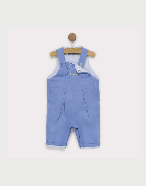 Salopette bleu jean RYALBERT / 19E0CG12SAL704
