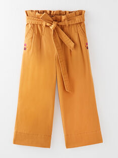 Pantalon jupe-culotte à ceinture  VLOYETTE / 20H2PFU1PAN809