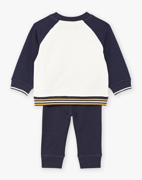 Ensemble pull et pantalon motif ourson bébé garçon BAFELIPE / 21H1BG51ENS070