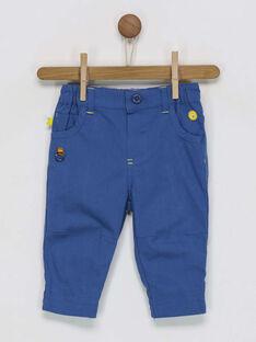 Pantalon bleu marine RAELIO / 19E1BGC2PANC202