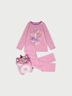 Pyjama rose RIVAVETTE1 / 19E5PF53PYT318