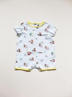 Combinaison courte bébé garçon imprimée  TODODO / 20E1BGV1CBLC227