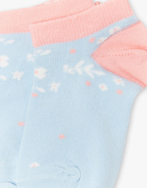 Chaussettes Basses Bleue ZUCAETTE / 21E4PFT1SOB201