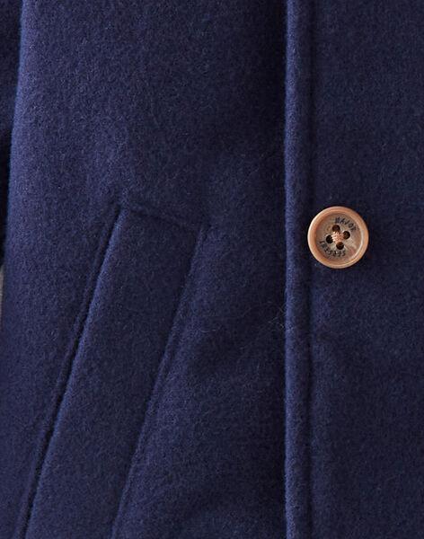 Manteau bleu marine  VIGEORGES / 20H1BGI1MAN070