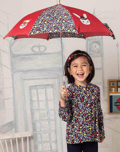 Parapluie à imprimé fleuri et motif animaux enfant fille BIPLUIETTE / 21H4PF51PUI050