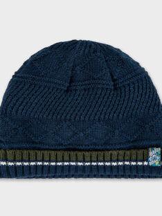 Bonnet bleu marine PITOILAGE / 18H4PGH1BON713