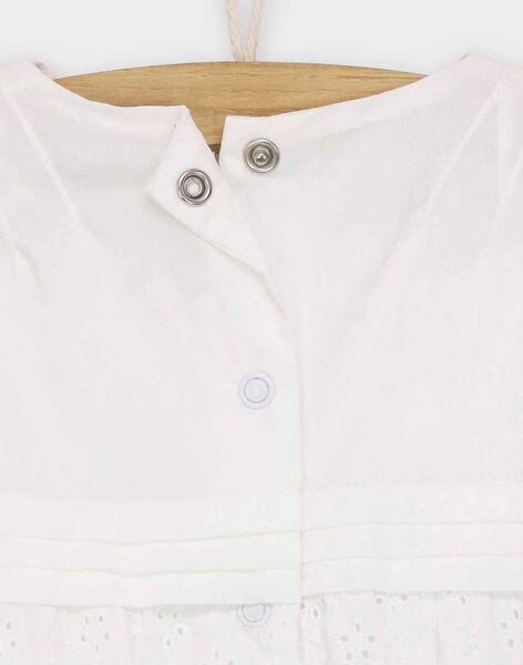 Barboteuse blanc RYGIGI / 19E0CFI2BAR001