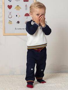 Jogging bleu marine bébé garçon BAFREDDY / 21H1BG51JGB070