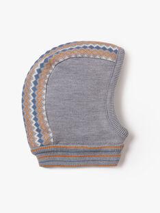 Cagoule grise en tricot  VUGLAGE / 20H4PGJ1CAG943