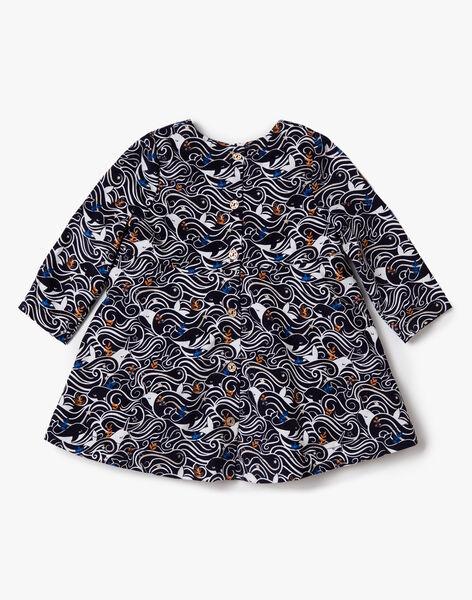Robe imprimée en velours côtelé VARAPHAELLE / 20H1BFY2ROB070