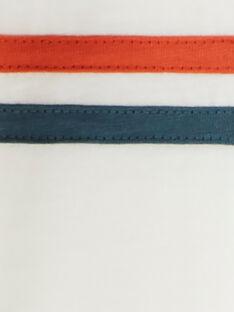 Tee-shirt écru manches longues à motif placé VEZOUAGE / 20H3PGM1TML001