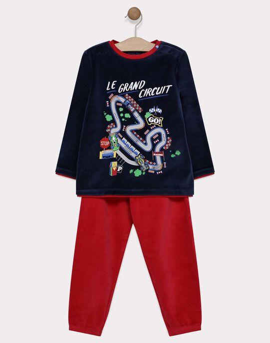 Pyjama en velours SEVOITAGE / 19H5PG51PYJC204