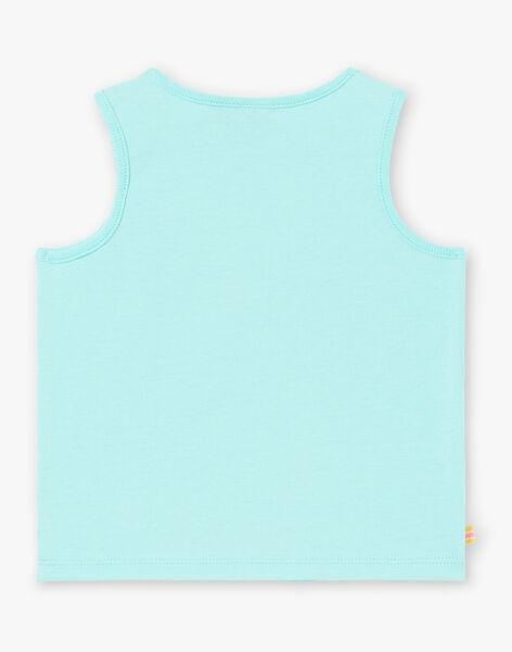 Débardeur Turquoise ZATIMOTE / 21E1BGU1DEB202