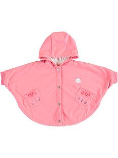 Cape de pluie rose bébé fille TAFALA / 20E1BFD1CPE415