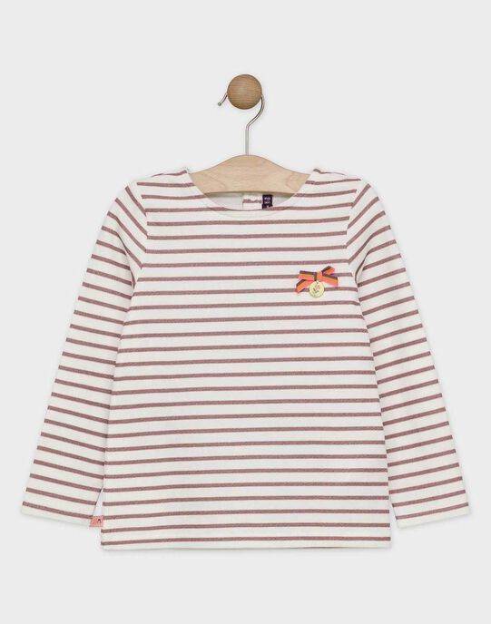 Tee-shirt manches longues en jersey SOBILETTE / 19H2PF64TML001
