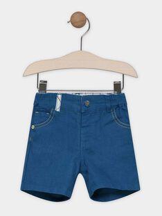 Bermuda bébé garçon couleur bleu canard SABOSTON / 19H1BG21BER714