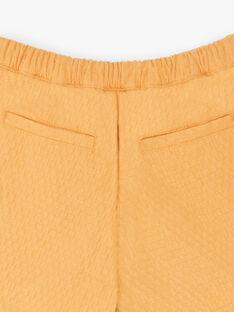 Jupe short jaune  ZESHOETTE / 21E2PF91SHO804