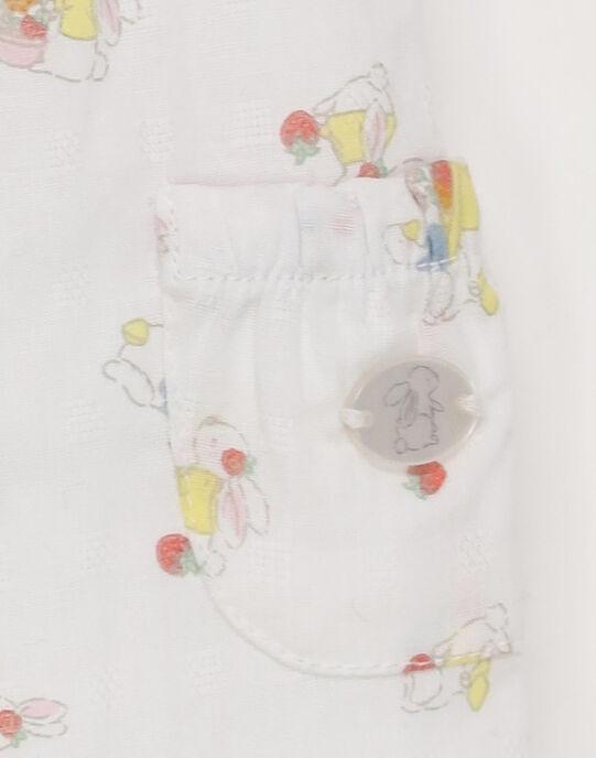 Salopette blanc RYANGELE / 19E0CF11SAL001