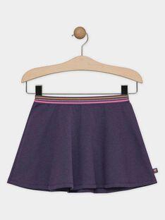 Jupe Violette SOFAILLETTE / 19H2PF61JUP712