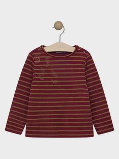 Tee-shirt manches longues en jersey et rayures lurexées.  SOIJETTE / 19H2PFI2TMLF511