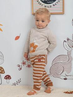 Jogging à rayures bébé garçon BALEONARD / 21H1BGJ1JGB809