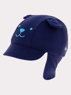 Chapeau bleu nuit RUMAXENCE / 19E4BGN1CHAC205