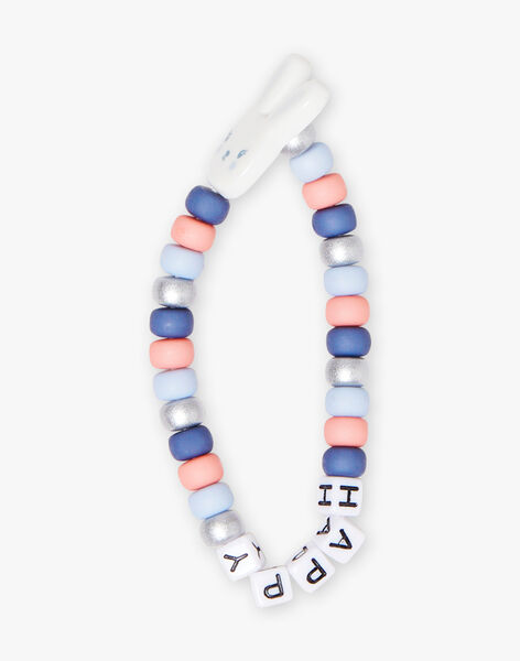 Bracelet perles coloréss Happy enfant fille BIBALETTE / 21H4PFT1BRC020