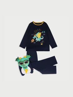 Pyjama bleu nuit RIVOUAGE 3 / 19E5PG53PYT713