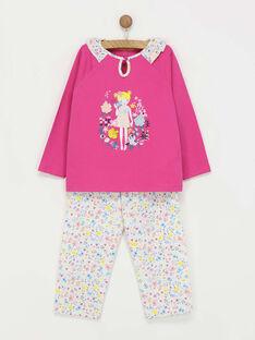 Pyjama fuchsia REJALETTE / 19E5PF73PYJ304