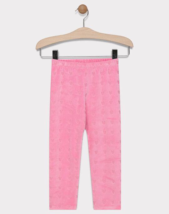 Pyjama en velours  SYLOVETTE / 19H5PF52PYJD300
