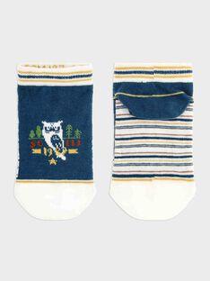 Chaussettes Basses Bleu marine SACHAUSAGE / 19H4PG21SOB714