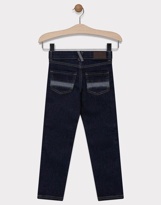 JEANS coloris dark blue denim, coupe slim SAMOJAGE 1 / 19H3PG91JEAK005