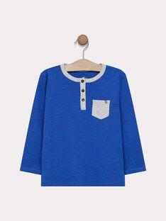 TML uni coloris bleu électrique SAMIXAGE 1 / 19H3PG91TML217