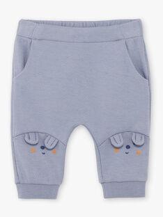 Ensemble body, pantalon et chaussettes naissance garçon BOSTON / 21H0CG42ENS216