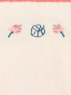 Chaussettes Basses Rose ZEPUETTE / 21E4PFI1SOBD319