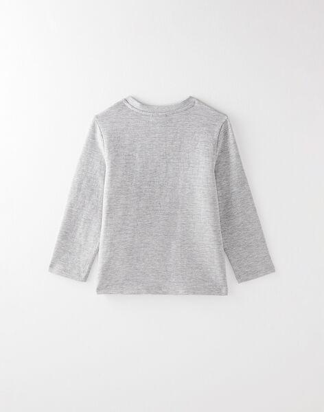 Tee-shirt manche longue gris VUNIAGE 6 / 20H3PGC6TMLJ906
