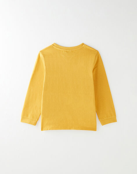 Tee-shirt manches longues bicolore avec animation VUJUTINAGE / 20H3PGQ1TMLB106