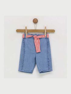 Jeans bleu RAOMA / 19E1BFH1JEA201