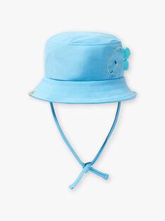 Chapeau bleu bébé garçon ZIRAVI / 21E4BGR2CHA218