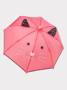 Parapluie chat rose fille SIRONETTE / 19H4PF41PUI305