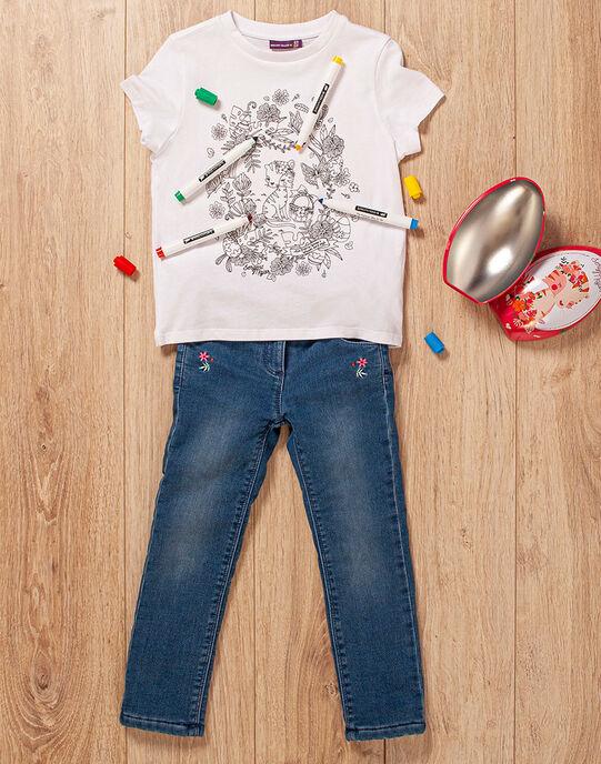Œuf de Pâques et t-shirt fille TUTUETTE 3 / 20E2PFU2TCT000