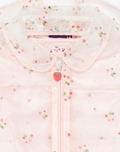 Ciré 2-en-1 transparent imprimé fraise ZOUCIRETTE / 21E2PFM2IMP961